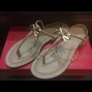 1a3ccd54cc9 kate spade Shoes - Kate Spade Tracie Bow Thong Sandals